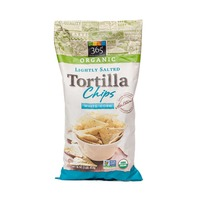 365 Organic Lightly Salted White Corn Tortilla Chips