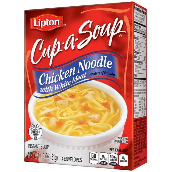 Lipton Chicken Noodle with White Meat Instant Soup Mix