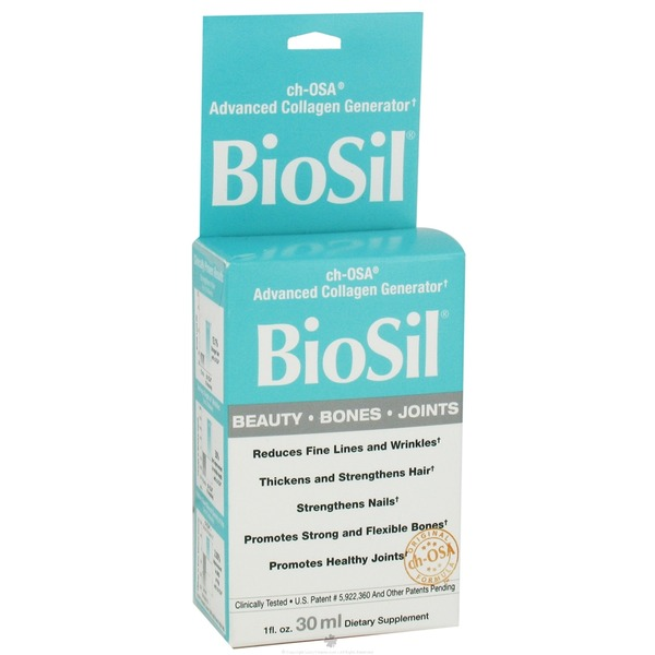 Natural Factors Biosil Beauty Bone Joint Liquid
