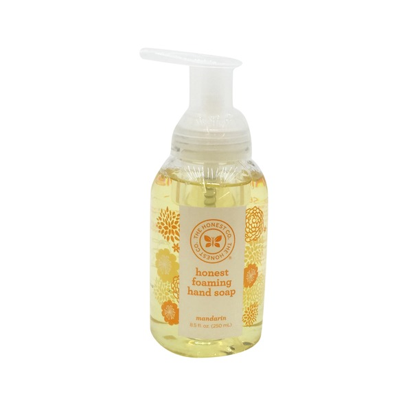 The Honest Company Mandarin Foaming Hand Soap