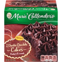 Marie Callender's Double Chocolate Mini Cakes