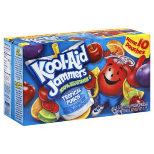 Kool-Aid Jammers Tropical Punch Juice Drink