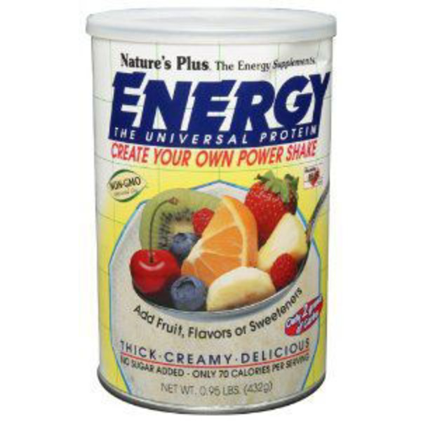Nature's Plus Unflavored Energy Shake Ppwder
