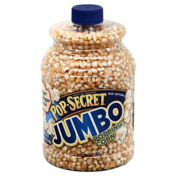 Pop Secret Jumbo Kernel Jar Popping Corn