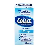 Colace Stool Softener 100mg Capsules - 30 CT