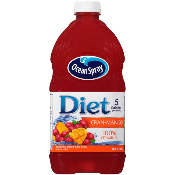 Ocean Spray Diet Cran-Mango Juice Drink