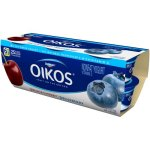 Oikos Black Cherry/Blueberry Nonfat Greek Yogurt, 5.3 oz, 6 ct
