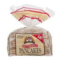 De Wafelbakkers Pancakes Buttermilk - 18 CT