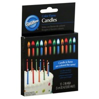 Wilton Color Flame Birthday Candles