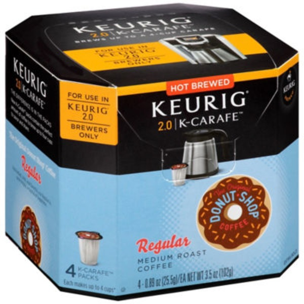 The Original Donut Shop Regular K-Carafe Packs Coffee
