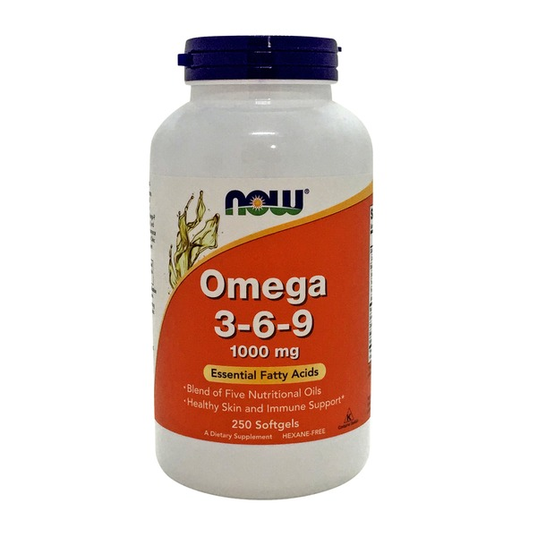 Now Omega 3-6-9 1000 mg Softgels