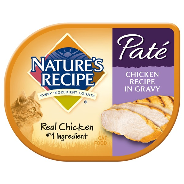 Natural Cat Pate Chicken Gravy