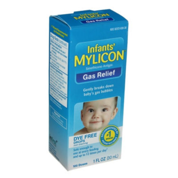 Mylicon Infants' Dye Free Gas Relief