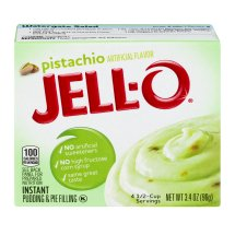 Jell-O Instant Pudding & Pie Filling Pistachio, 3.4 Oz