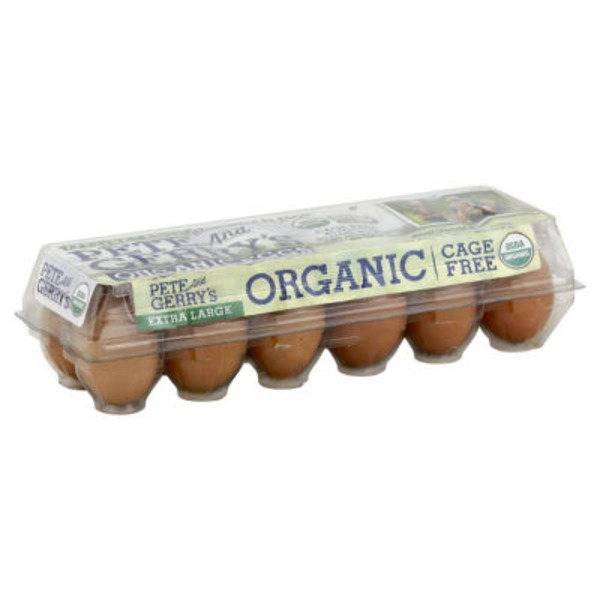 Pete And Gerry's Organic Eggs Pete And Gerry's Organic Free Range Eggs Extra Large - 12 CT