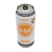 Hiball Energy Peach Sparkling Energy Water