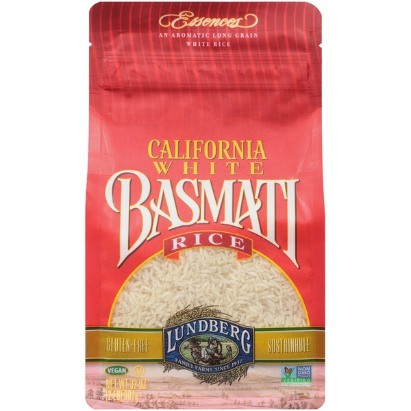 Lundberg Family Farms EF California White Basmati Eco-Farmed 2 lb Rice