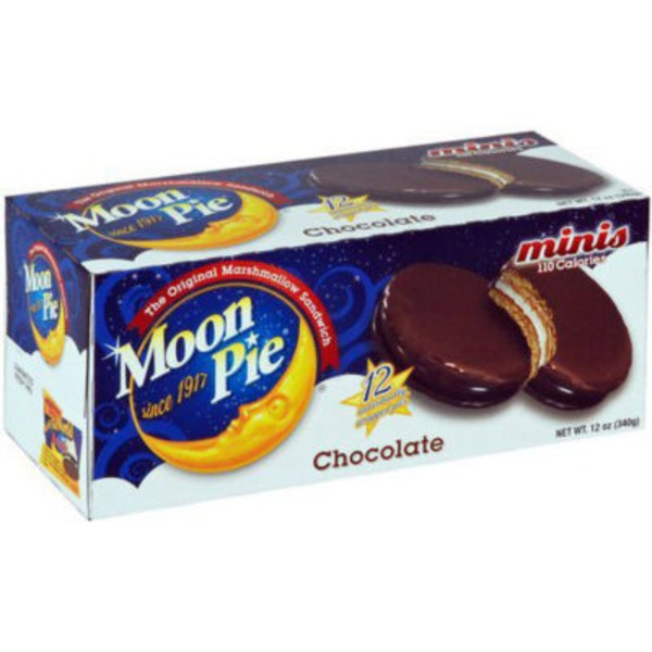 Moon Pie Chocolate Mini Marshmallow Sandwich