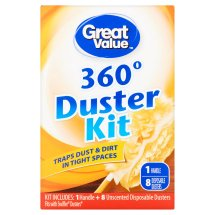 Great Value 360° Duster Kit, 9 Count