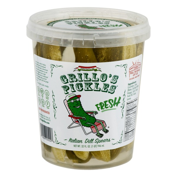 Grillo's Pickles Italian Dill Spears