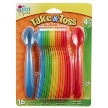 The First Years Take & Toss Infant Spoons, 16 ct