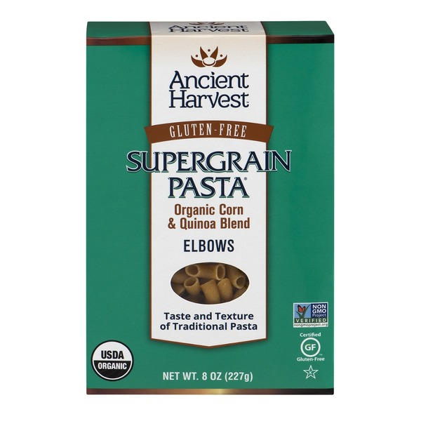 Ancient Harvest Gluten Free Elbows Organic Supergrain Pasta