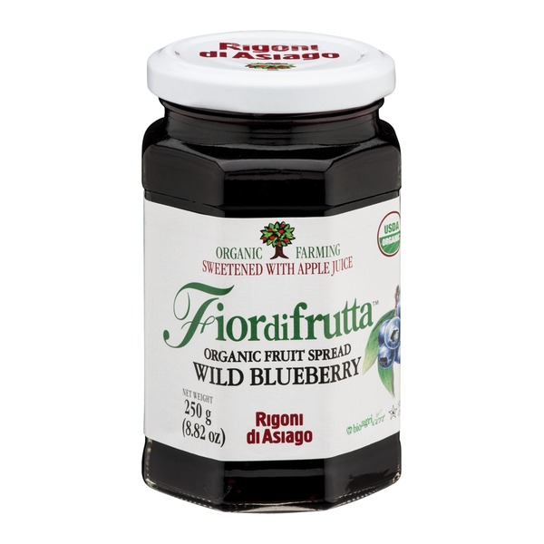 Fiordifrutta Organic Fruit Spread Wild Blueberry