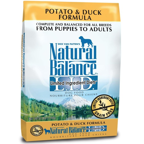 Natural Balance L.I.D. Grain Free Potato & Duck Dog Food
