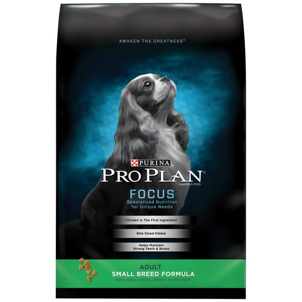Pro Plan Dog Dry Focus Adult Small Breed Formula Dog Food