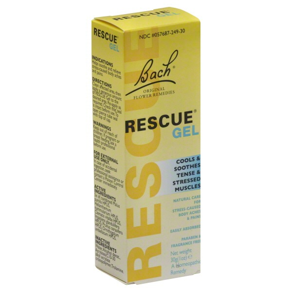 Bach Rescue Gel