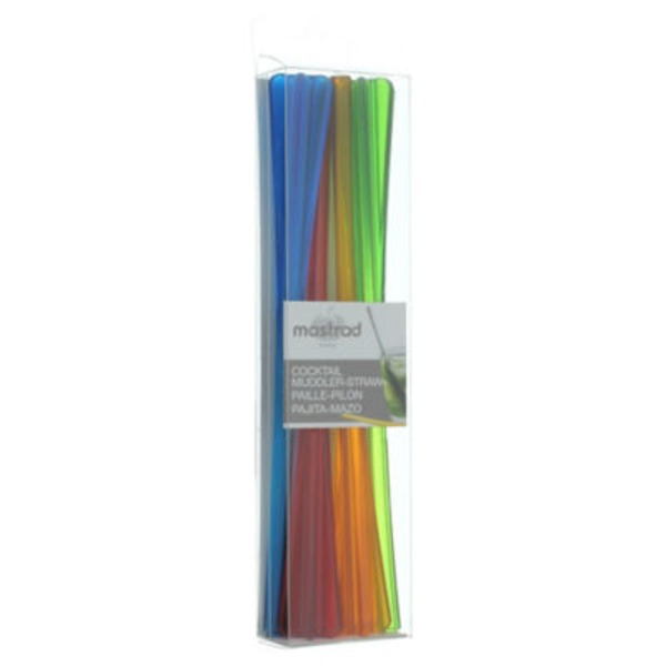 Mastrad Cocktail Muddler Straws