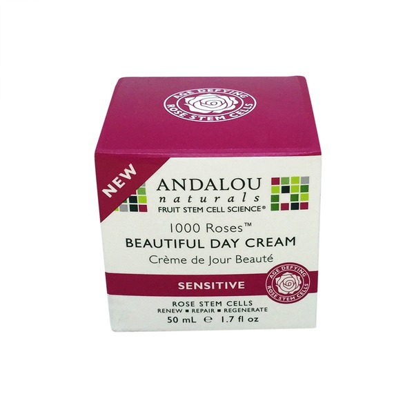 Andalou Naturals Day Cream, Beautiful, Sensitive