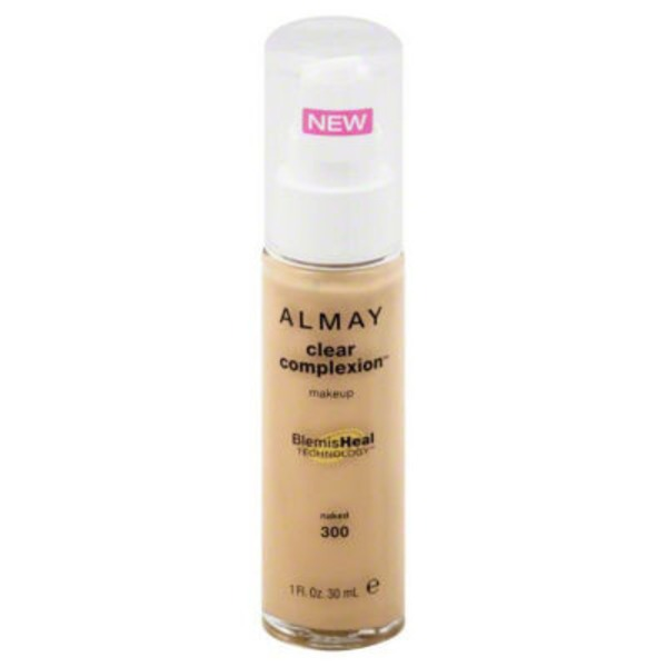 Almay Clear Complexsion Makeup BlemisHeal Technology Naked 300