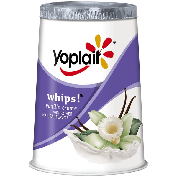 Yoplait Whips! Vanilla Creme Yogurt Mousse