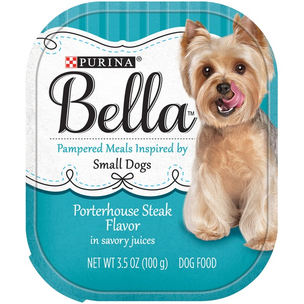 Bellas Porterhouse Steak Flavor in Savory Juices Dog Food