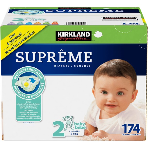 Kirkland Signature Diapers Size 2