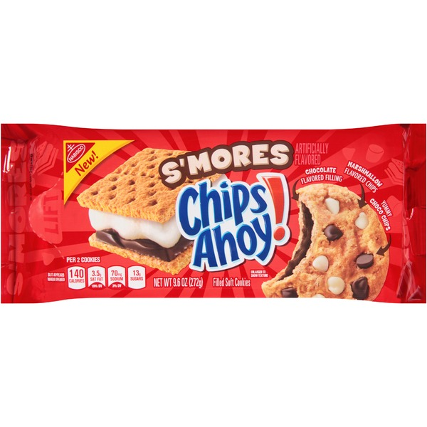 Chips Ahoy! S'mores Filled Soft Cookies
