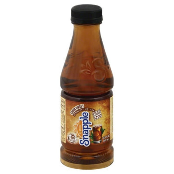 Snapple Straight Up Sorta Sweet Regular Tea