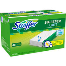 Swiffer Sweeper Wet Mopping Cloths Refills