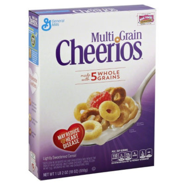 Multi Grain Cheerios Cereal