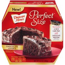 Duncan Hines Perfect Size Cake Mix Chocolate Lover's, 9.4 OZ