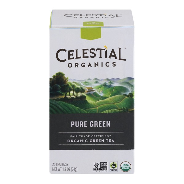 Celestial Bakers Organics Organic Green Tea Pure Green Tea - 20 CT