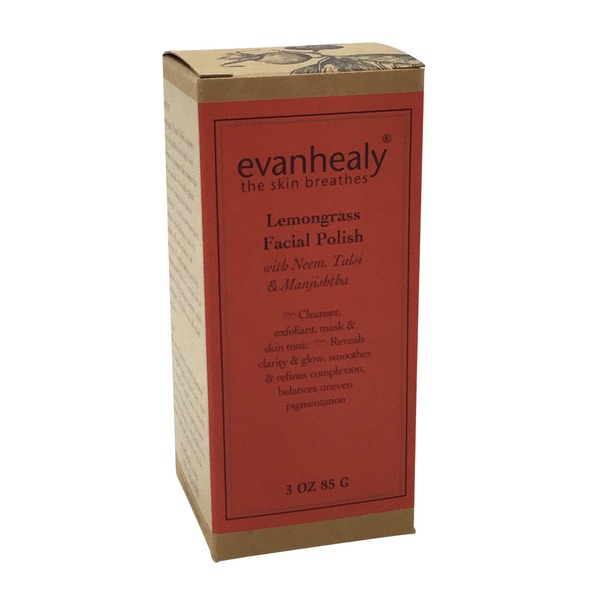 Evanhealy Lemongrass Face Polish