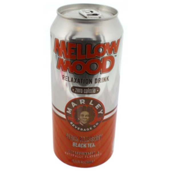 Mellow Mood Relaxation Decaffeinated Drink Peach Raspberry Black Tea Zero