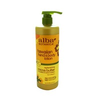 Alba Botanica Replenishing Cocoa Butter Hawaiian Hand & Body Lotion