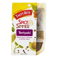 Tasty Bite Spice & Simmer Teriyaki Whole Spices, Marinade & Simmer Sauce
