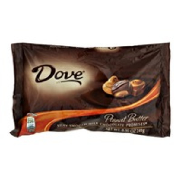 Dove Chocolate Dove Peanut Butter Silky Smooth Milk Chocolate Promises