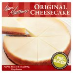 Adam Matthews Original Cheesecake, 30 oz