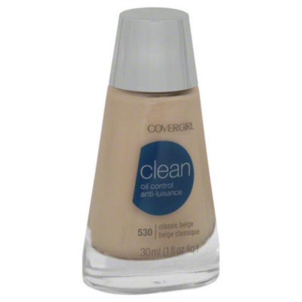 CoverGirl Clean Matte COVERGIRL Clean Matte Liquid Foundation Classic Beige 1 fl. oz Female Cosmetics