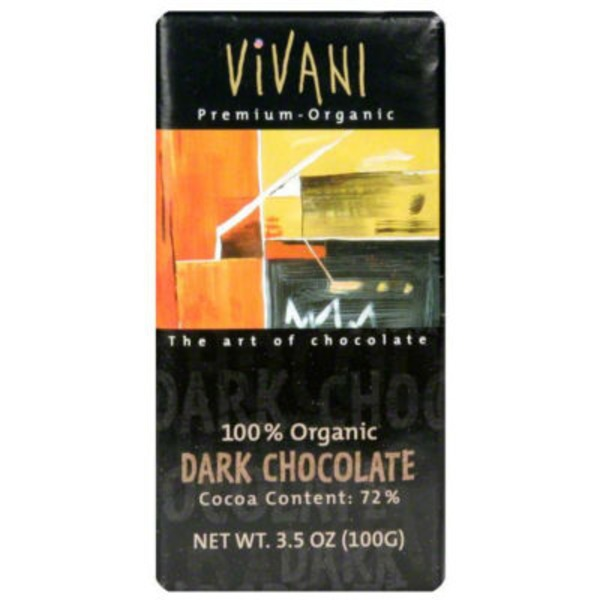 Vivani Chocolates 100% Organic Dark Chocolate